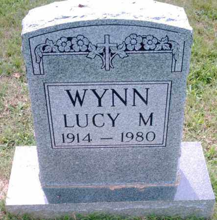 WYNN, LUCY M. - Pulaski County, Arkansas   LUCY M. WYNN - Arkansas Gravestone Photos