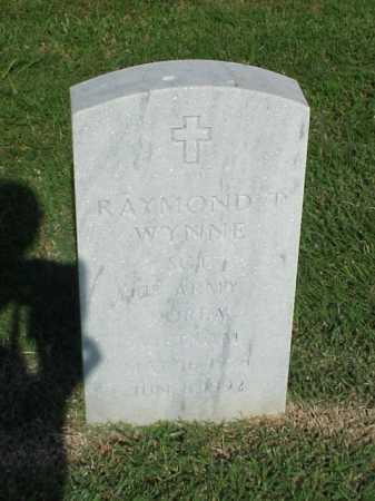 WYNNE (VETERAN 2 WARS), RAYMOND T - Pulaski County, Arkansas   RAYMOND T WYNNE (VETERAN 2 WARS) - Arkansas Gravestone Photos