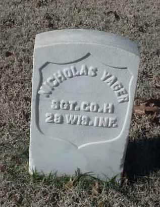 YAGER (VETERAN UNION), NICHOLAS - Pulaski County, Arkansas   NICHOLAS YAGER (VETERAN UNION) - Arkansas Gravestone Photos