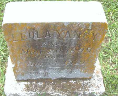 YANCY, LEOLA - Pulaski County, Arkansas   LEOLA YANCY - Arkansas Gravestone Photos