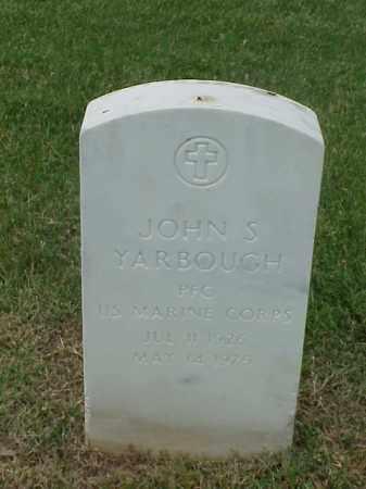 YARBOUGH (VETERAN WWII), JOHN S - Pulaski County, Arkansas   JOHN S YARBOUGH (VETERAN WWII) - Arkansas Gravestone Photos