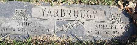 YARBROUGH, JOHN H - Pulaski County, Arkansas | JOHN H YARBROUGH - Arkansas Gravestone Photos