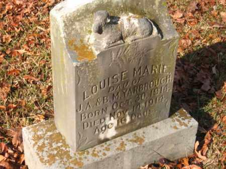 YARBROUGH, LOUISE MARIE - Pulaski County, Arkansas | LOUISE MARIE YARBROUGH - Arkansas Gravestone Photos