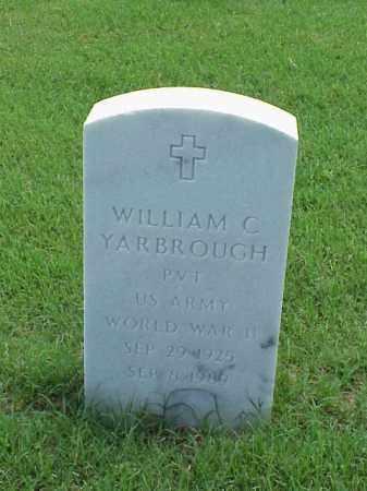 YARBROUGH (VETERAN WWII), WILLIAM C - Pulaski County, Arkansas | WILLIAM C YARBROUGH (VETERAN WWII) - Arkansas Gravestone Photos