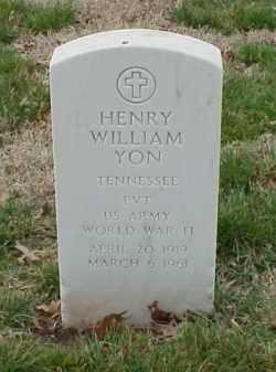 YON  (VETERAN WWII), HENRY WILLIAM - Pulaski County, Arkansas | HENRY WILLIAM YON  (VETERAN WWII) - Arkansas Gravestone Photos