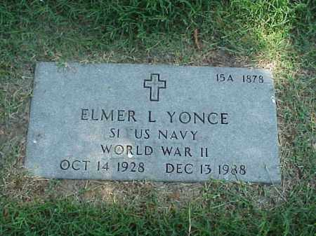 YONCE (VETERAN WWII), ELMER L - Pulaski County, Arkansas | ELMER L YONCE (VETERAN WWII) - Arkansas Gravestone Photos