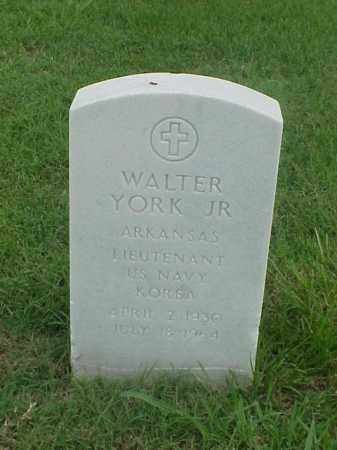 YORK, JR (VETERAN KOR), WALTER - Pulaski County, Arkansas | WALTER YORK, JR (VETERAN KOR) - Arkansas Gravestone Photos