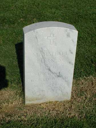 YORK, SR (VETERAN WWII), MARSHALL - Pulaski County, Arkansas   MARSHALL YORK, SR (VETERAN WWII) - Arkansas Gravestone Photos