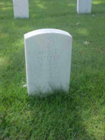YOTTER (VETERAN WWII), SAMUEL J - Pulaski County, Arkansas | SAMUEL J YOTTER (VETERAN WWII) - Arkansas Gravestone Photos