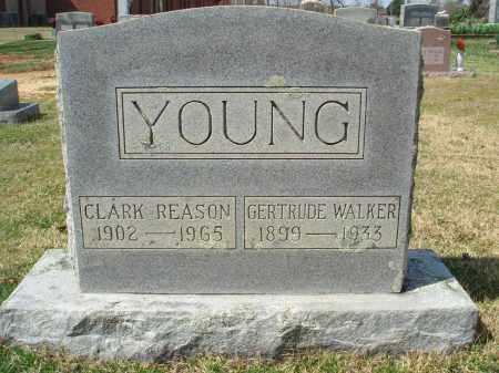 YOUNG, GERTRUDE - Pulaski County, Arkansas | GERTRUDE YOUNG - Arkansas Gravestone Photos