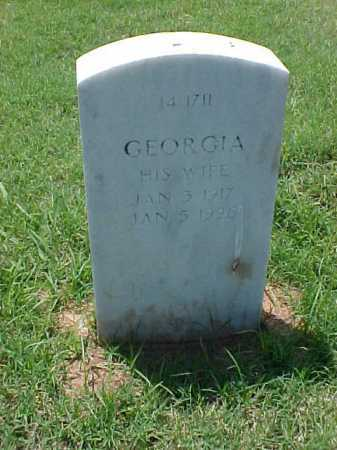 YOUNG, GEORGIA - Pulaski County, Arkansas | GEORGIA YOUNG - Arkansas Gravestone Photos