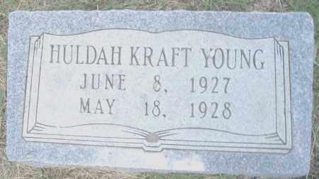 YOUNG, HULDAH - Pulaski County, Arkansas | HULDAH YOUNG - Arkansas Gravestone Photos
