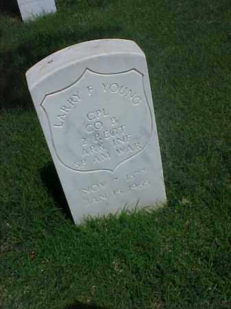 YOUNG (VETERAN SAW), LARRY F - Pulaski County, Arkansas | LARRY F YOUNG (VETERAN SAW) - Arkansas Gravestone Photos