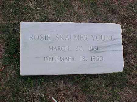 YOUNG, ROSIE - Pulaski County, Arkansas | ROSIE YOUNG - Arkansas Gravestone Photos