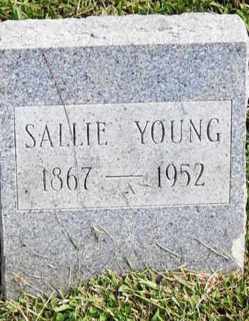 YOUNG, SALLIE - Pulaski County, Arkansas   SALLIE YOUNG - Arkansas Gravestone Photos