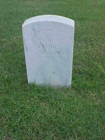 YOUNG, TRUDIE - Pulaski County, Arkansas | TRUDIE YOUNG - Arkansas Gravestone Photos