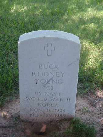 YOUNG (VETERAN 2 WARS), BUCK RODNEY - Pulaski County, Arkansas | BUCK RODNEY YOUNG (VETERAN 2 WARS) - Arkansas Gravestone Photos