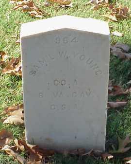 YOUNG (VETERAN CSA), SAMUEL W - Pulaski County, Arkansas | SAMUEL W YOUNG (VETERAN CSA) - Arkansas Gravestone Photos