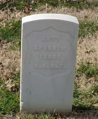YOUNG (VETERAN UNION), EPHRAIM - Pulaski County, Arkansas | EPHRAIM YOUNG (VETERAN UNION) - Arkansas Gravestone Photos