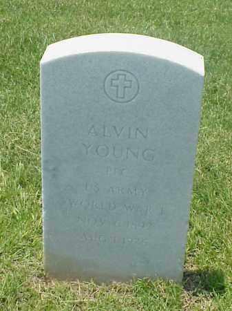 YOUNG (VETERAN WWI), ALVIN - Pulaski County, Arkansas | ALVIN YOUNG (VETERAN WWI) - Arkansas Gravestone Photos