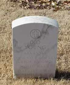 YOUNG (VETERAN WWI), DIO - Pulaski County, Arkansas   DIO YOUNG (VETERAN WWI) - Arkansas Gravestone Photos