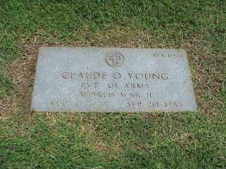 YOUNG (VETERAN WWII), CLAUDE O - Pulaski County, Arkansas   CLAUDE O YOUNG (VETERAN WWII) - Arkansas Gravestone Photos