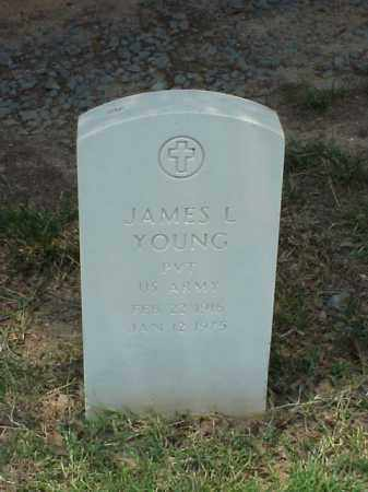 YOUNG (VETERAN WWII), JAMES L - Pulaski County, Arkansas | JAMES L YOUNG (VETERAN WWII) - Arkansas Gravestone Photos
