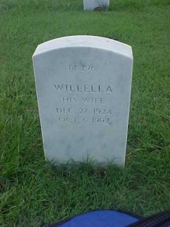 YOUNG, WILLELLA - Pulaski County, Arkansas | WILLELLA YOUNG - Arkansas Gravestone Photos