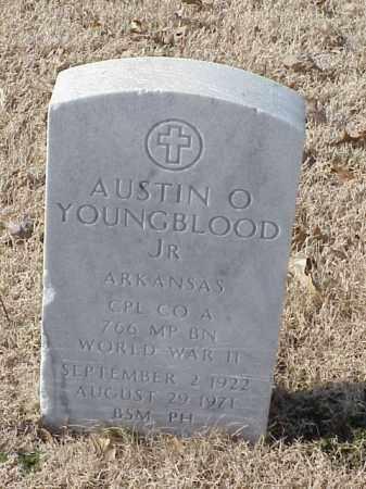 YOUNGBLOOD, JR (VETERAN WWII), AUSTIN O - Pulaski County, Arkansas | AUSTIN O YOUNGBLOOD, JR (VETERAN WWII) - Arkansas Gravestone Photos