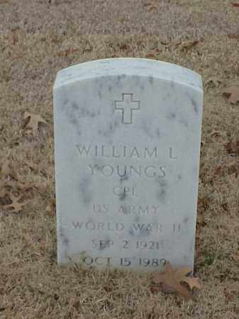 YOUNGS (VETERAN WWII), WILLIAM L - Pulaski County, Arkansas | WILLIAM L YOUNGS (VETERAN WWII) - Arkansas Gravestone Photos