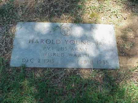 YOUNG, JR (VETERAN WWII), HAROLD - Pulaski County, Arkansas | HAROLD YOUNG, JR (VETERAN WWII) - Arkansas Gravestone Photos