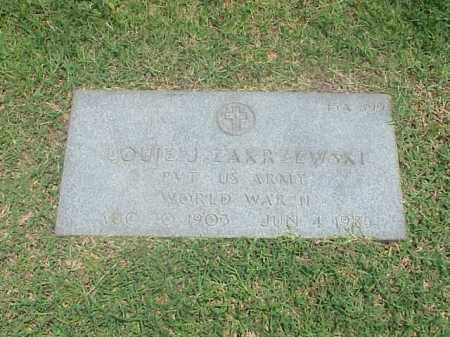 ZAKRZEWSKI (VETERAN WWII), LOUIE J - Pulaski County, Arkansas | LOUIE J ZAKRZEWSKI (VETERAN WWII) - Arkansas Gravestone Photos
