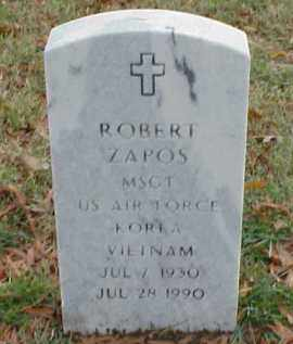 ZAPOS (VETERAN 2 WARS), ROBERT - Pulaski County, Arkansas   ROBERT ZAPOS (VETERAN 2 WARS) - Arkansas Gravestone Photos