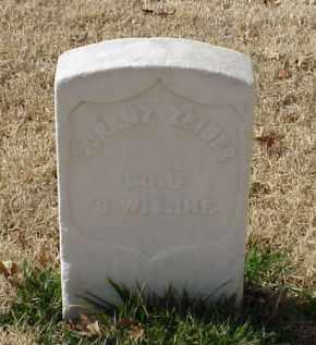 ZEIGER (VETERAN UNION), LORENZ - Pulaski County, Arkansas   LORENZ ZEIGER (VETERAN UNION) - Arkansas Gravestone Photos
