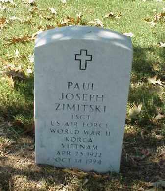 ZIMITSKI (VETERAN 3 WARS), PAUL JOSEPH - Pulaski County, Arkansas | PAUL JOSEPH ZIMITSKI (VETERAN 3 WARS) - Arkansas Gravestone Photos