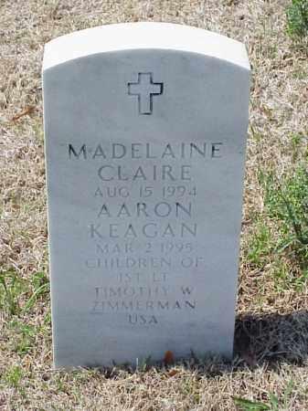 ZIMMERMAN, MADELAINE CLAIRE - Pulaski County, Arkansas | MADELAINE CLAIRE ZIMMERMAN - Arkansas Gravestone Photos