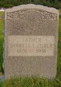 ZUBER, DIBRELL LEE - Pulaski County, Arkansas | DIBRELL LEE ZUBER - Arkansas Gravestone Photos