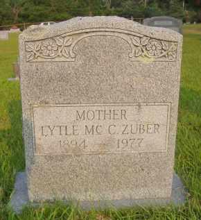 ZUBER, LYTLE RUTH - Pulaski County, Arkansas | LYTLE RUTH ZUBER - Arkansas Gravestone Photos