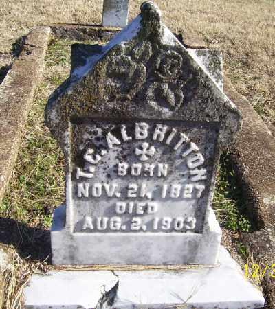 ALBRITTON, T.C. - Randolph County, Arkansas   T.C. ALBRITTON - Arkansas Gravestone Photos