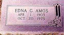 AMOS, EDNA ETHEL - Randolph County, Arkansas | EDNA ETHEL AMOS - Arkansas Gravestone Photos