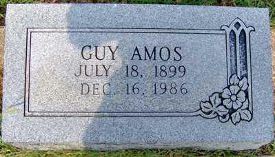 AMOS, JAMES GUY - Randolph County, Arkansas | JAMES GUY AMOS - Arkansas Gravestone Photos