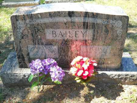 BAILEY, JULIA - Randolph County, Arkansas | JULIA BAILEY - Arkansas Gravestone Photos