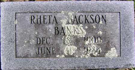 PRICE BANKS, RHETA JACKSON - Randolph County, Arkansas | RHETA JACKSON PRICE BANKS - Arkansas Gravestone Photos