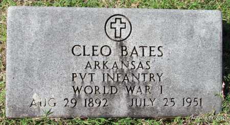 BATES (VETERAN WWI), CLEO - Randolph County, Arkansas | CLEO BATES (VETERAN WWI) - Arkansas Gravestone Photos