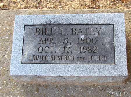 BATEY, BILL L - Randolph County, Arkansas | BILL L BATEY - Arkansas Gravestone Photos