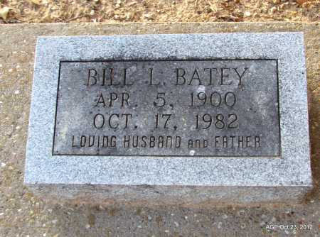 BATEY, BILL L - Randolph County, Arkansas | BILL L BATEY - Arkansas Gravestone Photos