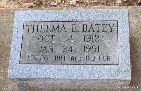 CARSON BATEY, THELMA E - Randolph County, Arkansas | THELMA E CARSON BATEY - Arkansas Gravestone Photos