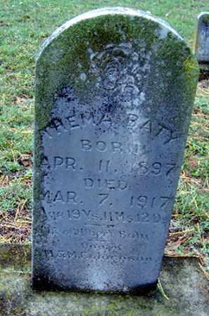 JACKSON BATY, THELMA - Randolph County, Arkansas | THELMA JACKSON BATY - Arkansas Gravestone Photos