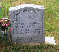"BELCHER, VIRGINIA RAVINELL ""NELL"" - Randolph County, Arkansas | VIRGINIA RAVINELL ""NELL"" BELCHER - Arkansas Gravestone Photos"