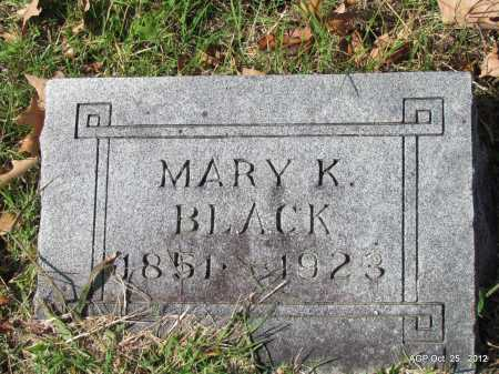 BLACK, MARY K - Randolph County, Arkansas | MARY K BLACK - Arkansas Gravestone Photos